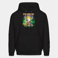 Hoodie sweatshirt Powered by plants