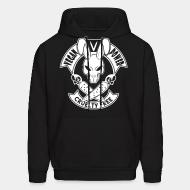 Hoodie sweatshirt Vegan power! Cruelty free