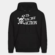 Hoodie sweatshirt Anti-racist action