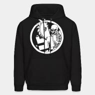 Sweat (Hoodie) Anti-nazi Skeleton