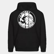 Hoodie sweatshirt Ultras antifa support