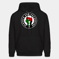 Sweat (Hoodie) Justice for palestine