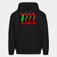 Hoodie sweatshirt Stealing of Palestinian land by the zionist state