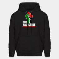 Hoodie sweatshirt Free palestine end israeli occupation