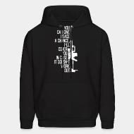 Hoodie sweatshirt You can give peace a chance i'll cover you in case it doesn't work out