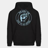 Sweat (Hoodie) Power to the peaceful