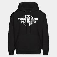 Hoodie sweatshirt There is no Planet B