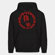 Hoodie sweatshirt HC punk oi! Antifa league