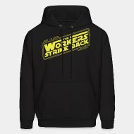 Hoodie sweatshirt Class war - The workers strike back
