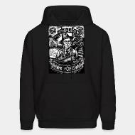 Hoodie sweatshirt Frank H. Little - No war but class war