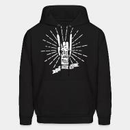 Sweat (Hoodie) Rock and roll - live fast die old