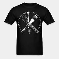 T-shirt standard unisexe These weapons slay tyrants!