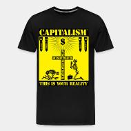 T-shirt Xtra-Large Capitalism - this is your reality