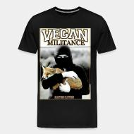 T-shirt Xtra-Large Vegan militance saves lives