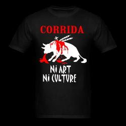 Corrida: ni art ni culture Animal liberation - Vegetarian - Vegan - Anti-specism - Animal cruelty - Animal testing - Animal liberation front - ALF - Vivisection - Animal experim