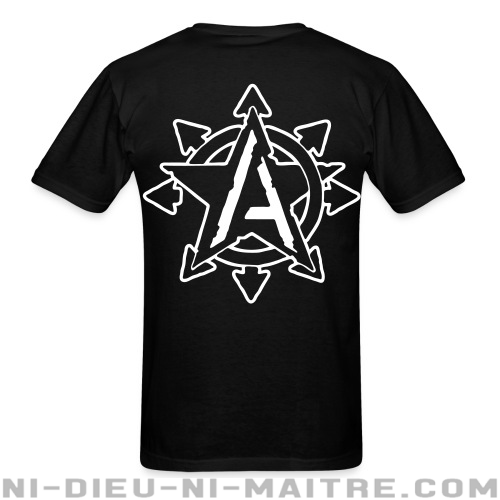 Anarchy Chaos - T-shirt Militant