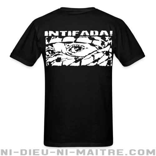 Intifada! - T-shirt anti-guerre