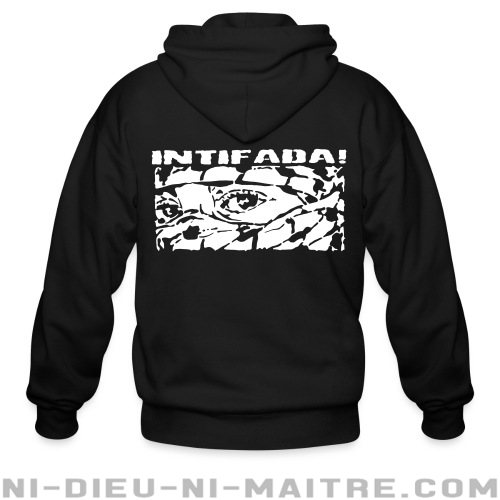 Intifada! - Sweat zippé anti-guerre
