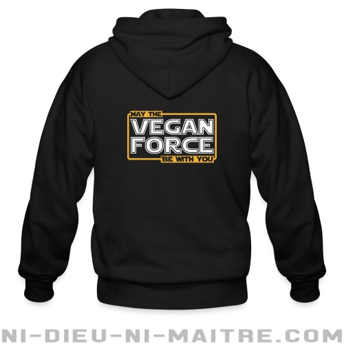 May the vegan force be with you - Sweat zippé véganes et libération animale