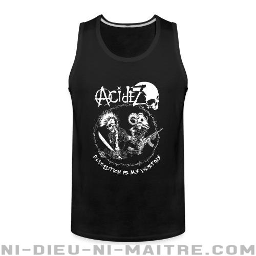 Acidez - Revolution is my destiny - Débardeur pour homme Band Merch