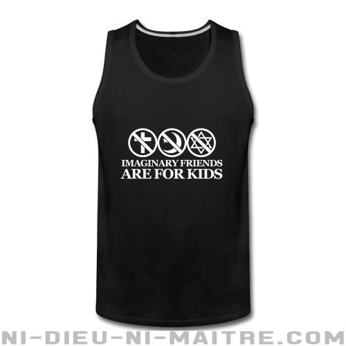 Imaginary friends are for kids - Débardeur pour homme Athé