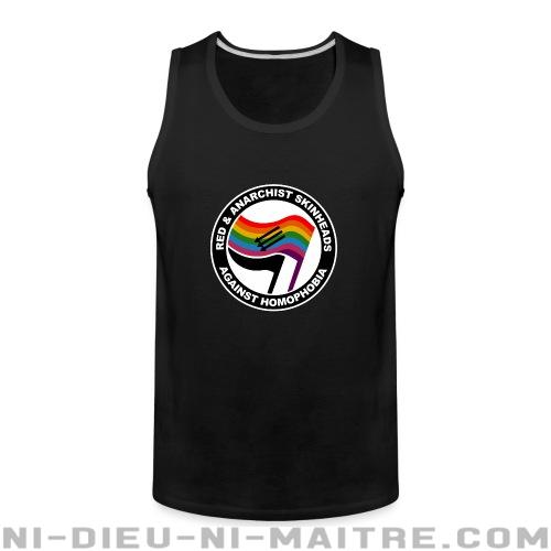 Red & anarchist skinheads against homophobia - Débardeur pour homme Anti-Fasciste
