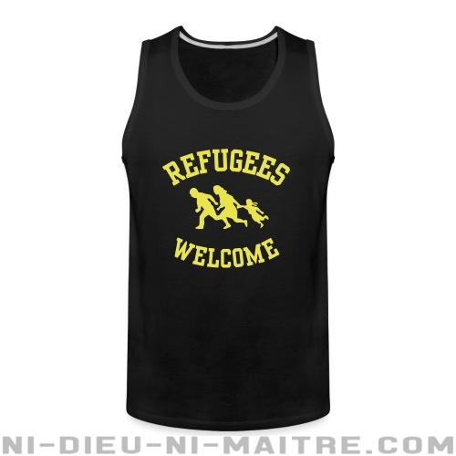 Camisole Refugees welcome - Antifa & anti-racisme