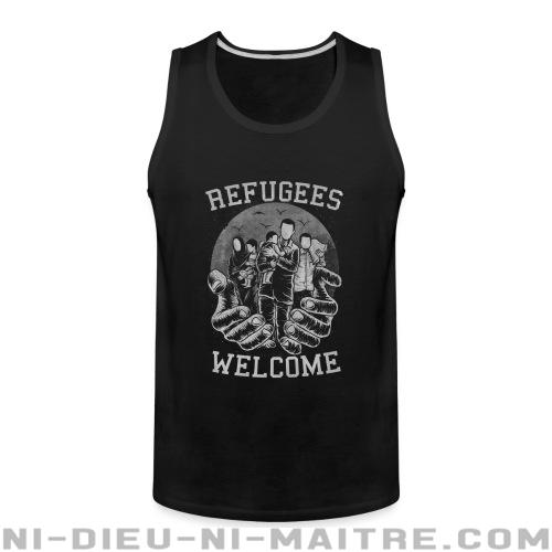 Camisole Refugees Welcome - Stop war