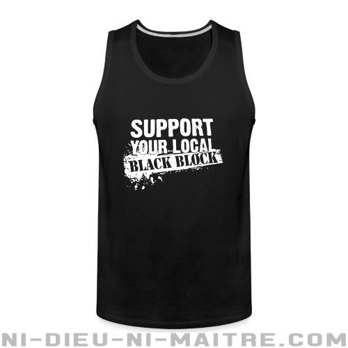 Camisole support your local black block camisole for Black block