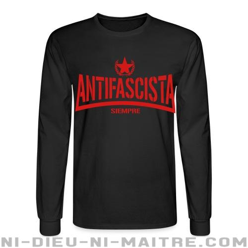 Antifascista siempre - Chandails à manches longues Anti-Fasciste