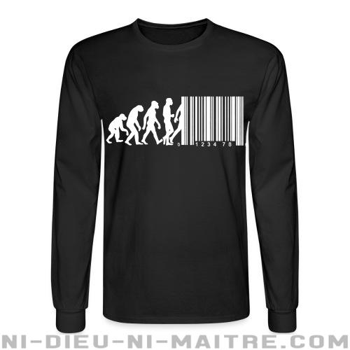 Bar code evolution - Chandails à manches longues Militant