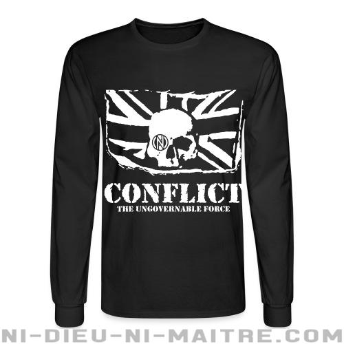 Conflict - The ungovernable force - Chandails à manches longues Punk