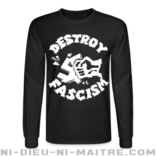 Destroy fascism - Chandails à manches longues Anti-Fasciste