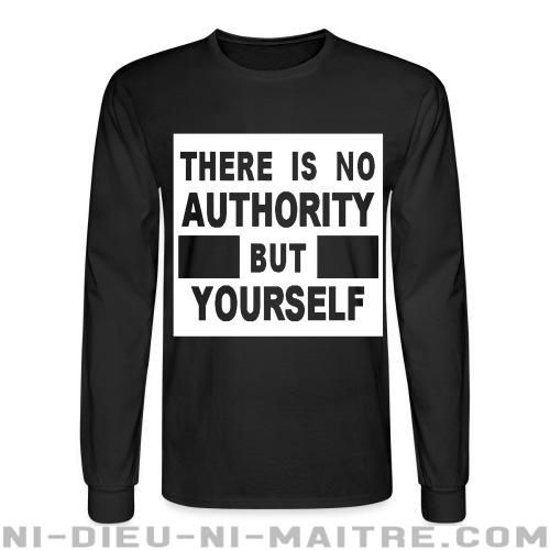 There is no authority but yourself (CRASS) - Chandails à manches longues Militant