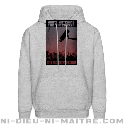 Who's watching the watchers? Join the resistance - Sweat à capuche (Hoodie) ACAB anti-violence-policiere
