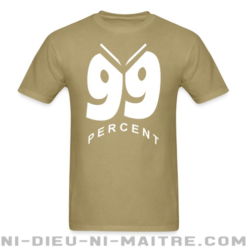 99 percent - T-shirt Anonymous