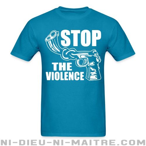 Stop the violence - T-shirt anti-guerre