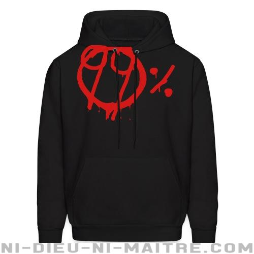 99% - Sweat à capuche (Hoodie) Anonymous