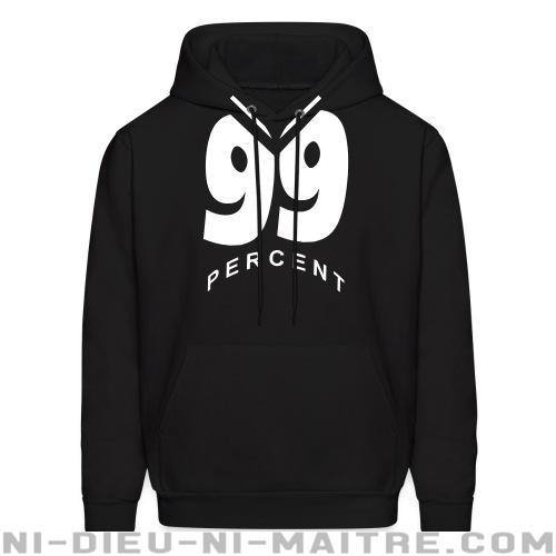 99 percent - Sweat à capuche (Hoodie) Anonymous