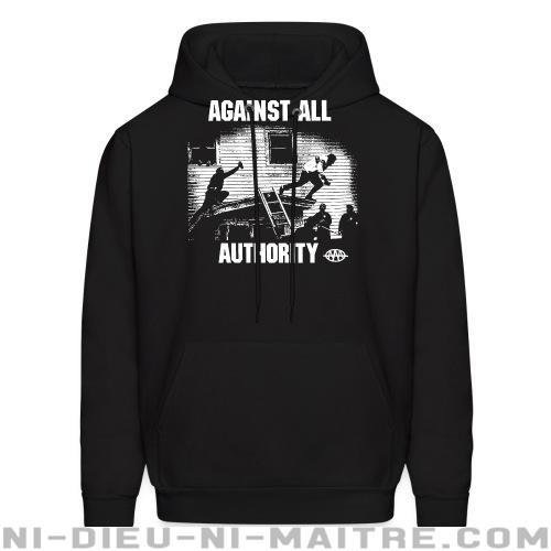 Against All Authority - Sweat à capuche (Hoodie) Band Merch