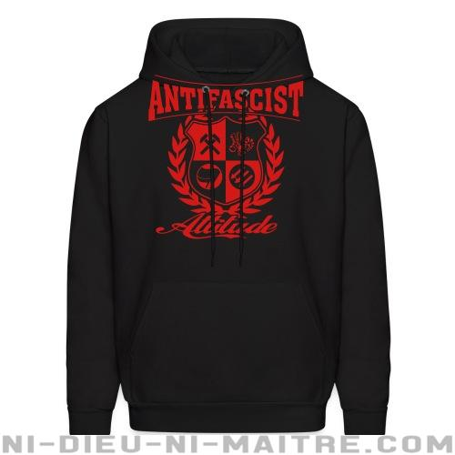 Hoodie sweatshirt Antifascist attitude - Antifa & anti-racisme