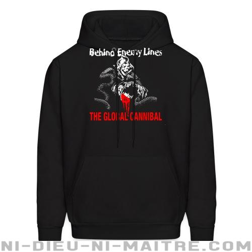 Behind Enemy Lines - The global cannibal - Sweat à capuche (Hoodie) Band Merch