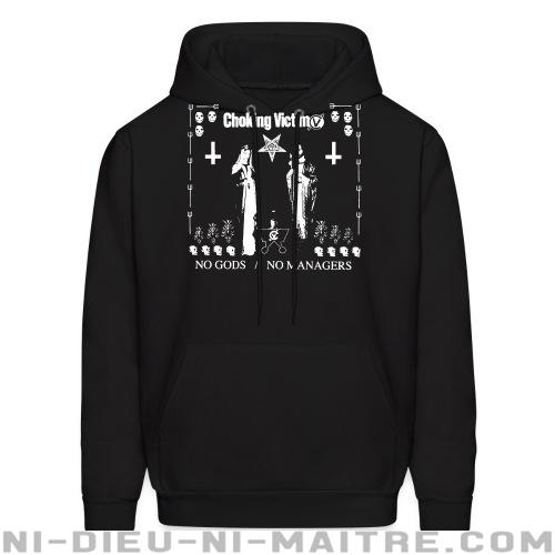Choking victim - No gods no managers - Sweat à capuche (Hoodie) Band Merch