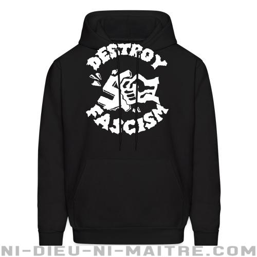 Destroy fascism - Sweat à capuche (Hoodie) Anti-Fasciste