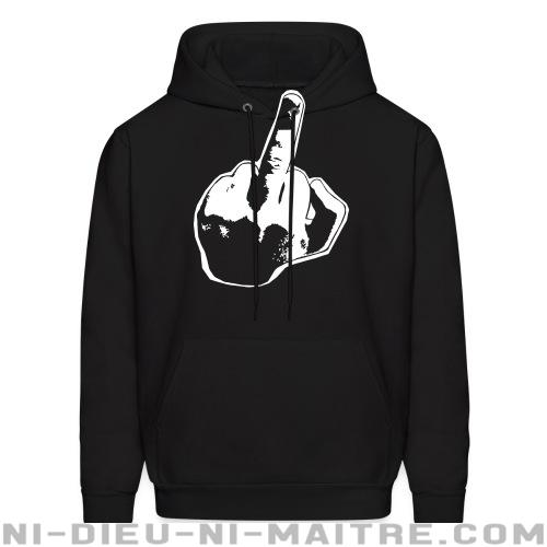 Fuck you - Sweat à capuche (Hoodie) humour engagé