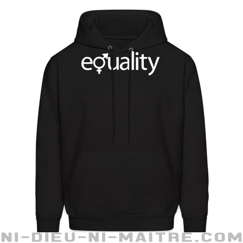 Gender equality - Sweat à capuche (Hoodie) Féministe