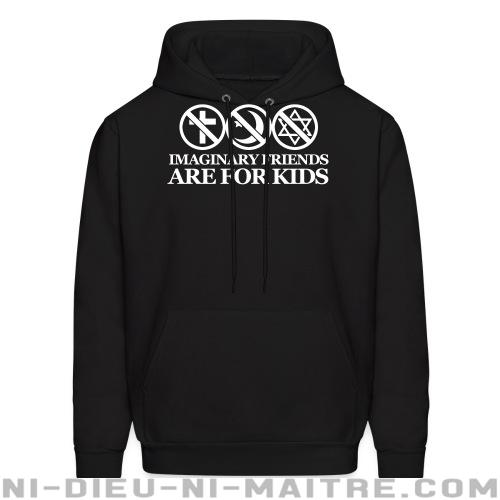 Imaginary friends are for kids - Sweat à capuche (Hoodie) Athé