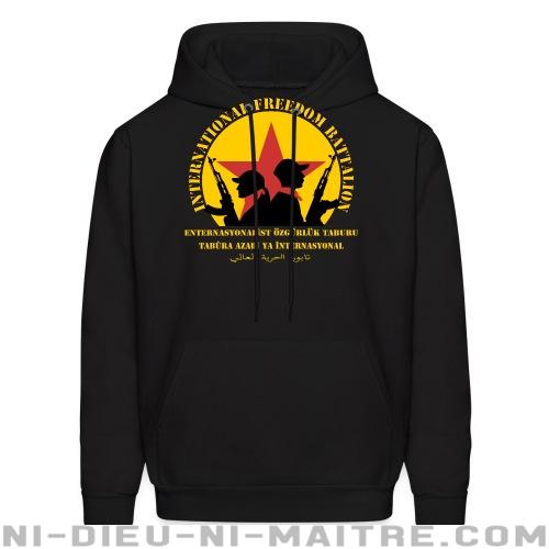 International freedom battalion - Sweat à capuche (Hoodie) Rojava