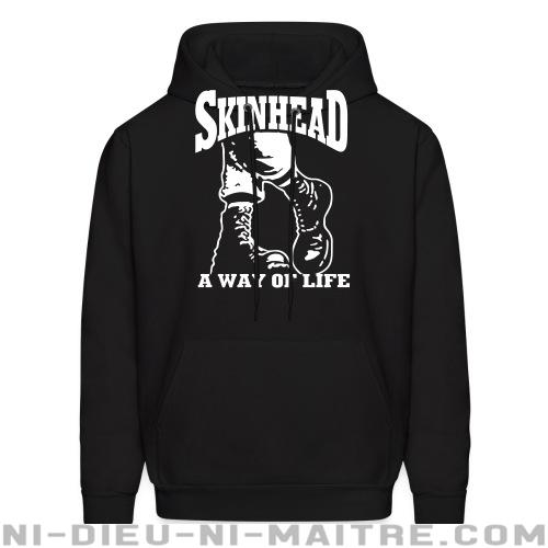 Skinhead a way of life - Sweat à capuche (Hoodie) Skinhead