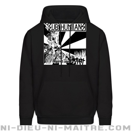 Subhumans - Religious wars - Sweat à capuche (Hoodie) Band Merch